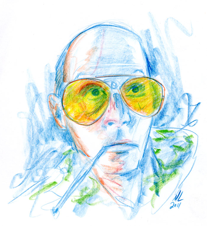 response to hunter s thompsons ferar Loathing hunter s thompson  misogyny and homophobia were twin engines which propelled thompson's souped-up prose (see fear and loathing in america where he defends edward kennedy's appalling .